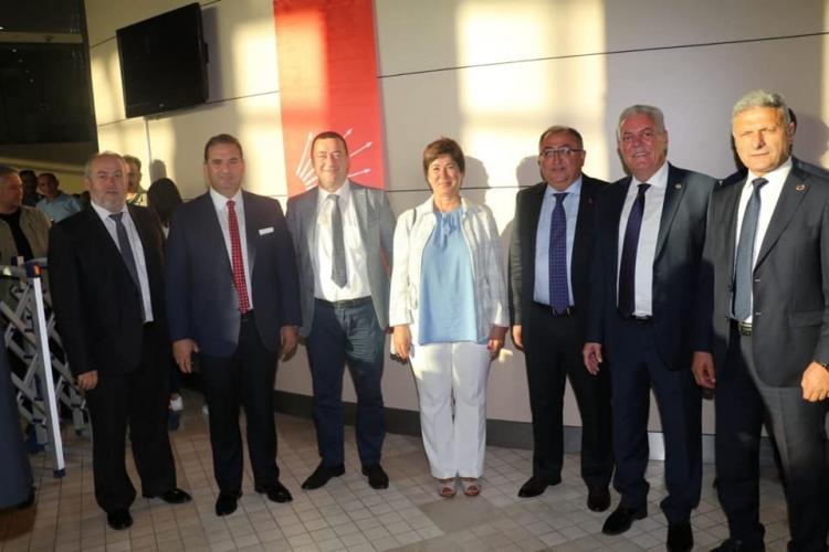 Yalova Heyeti CHP'nin Kuruluş Etkinliklerine Katıldı