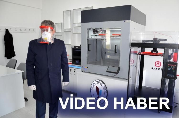 Üniversite 3D Yazıcı İle Siperlik Üretiyor