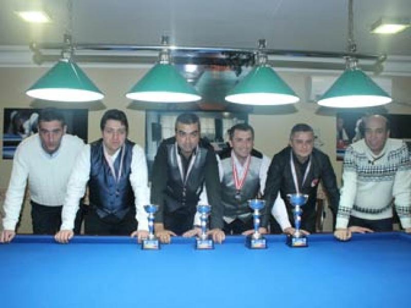 Yalova 3 Bant Bilardo Şampiyonasında Zafer Ulubay'ın