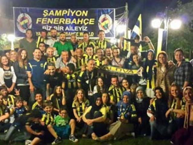Yalova Fenerbahçe World 19. Şampiyonluğu Kutladı
