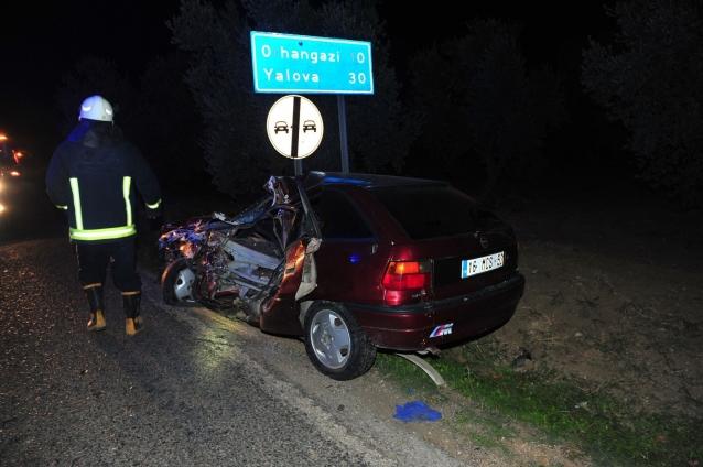 Yalova'da 1 Yılda 717 Trafik Kazası Meydana Geldi