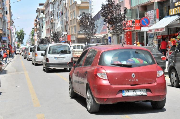 Yalova'da 67 Bin 599 Kayıtlı Araç Bulunuyor