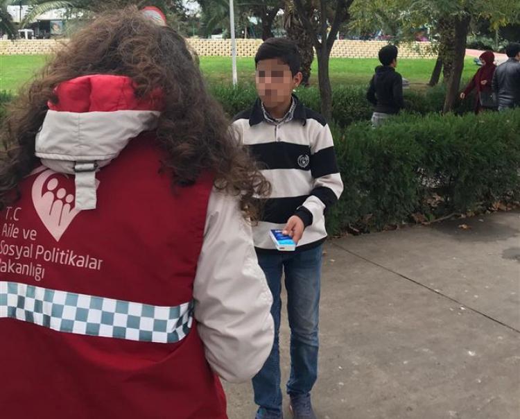 Yalova'da Çalıştırılan Ve Dilendrilen Çocuklar Takibe Alındı