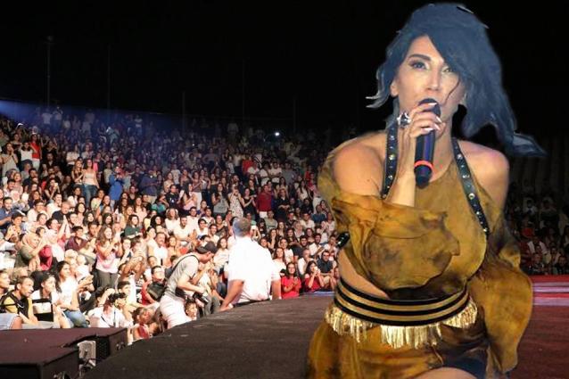 Yalova'da Hande Yener Rüzgarı Esti