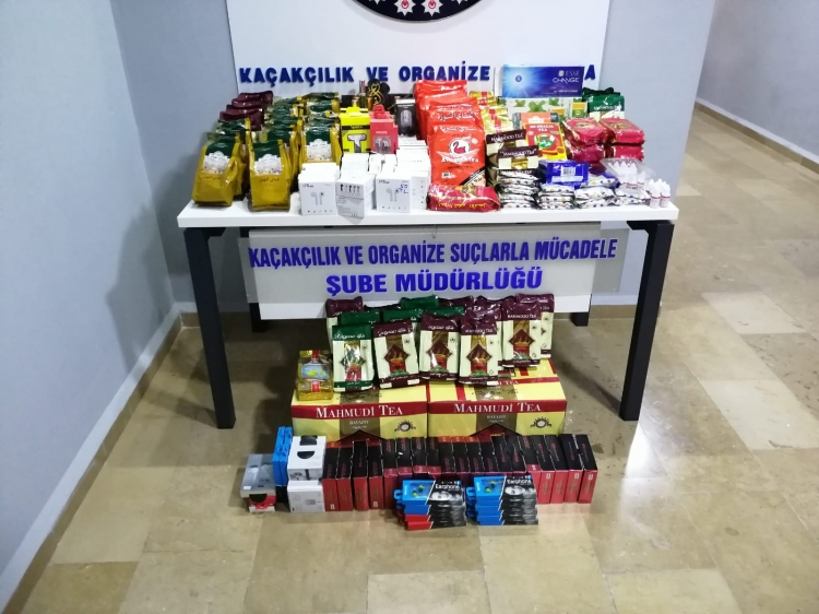 Yalova'da Kaçak Sigara, Çay Ve Tütün Ele Geçirildi
