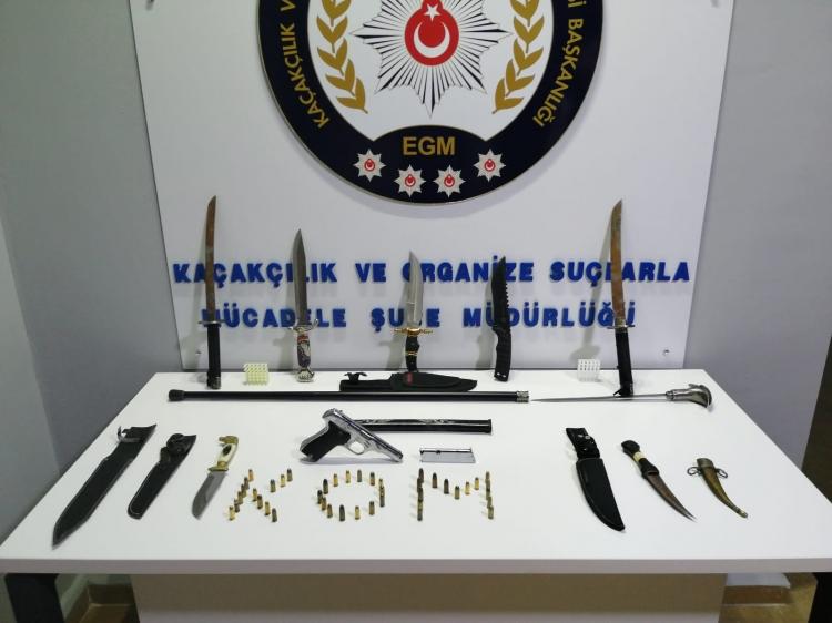 Yalova'da Silah Kaçakçılarına Yönelik Operasyon