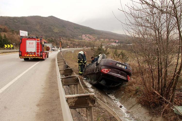 Yalova'da Trafik Kazası: 6 Yaralı
