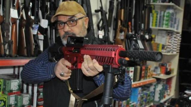 Yalova'da Tüfek Satışına Yasak Geldi