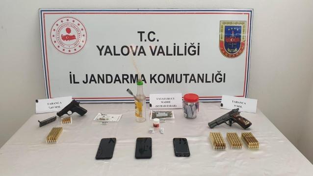 Yalova'da Uyuşturucu Operasyon
