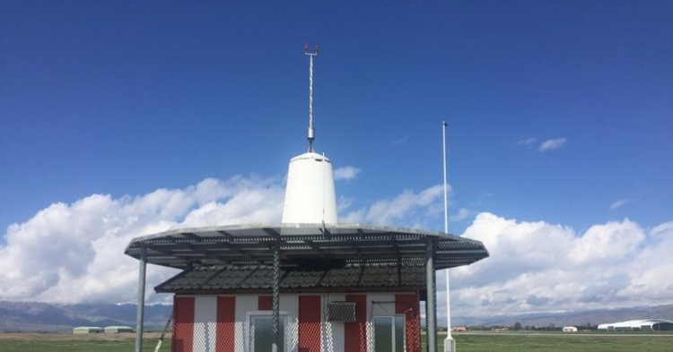 Yalova'da Vor Antenlerine Yıldırım İsabet Etti