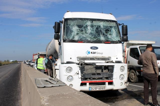 Yalova'da Zincirleme Kaza: 4 Yaralı