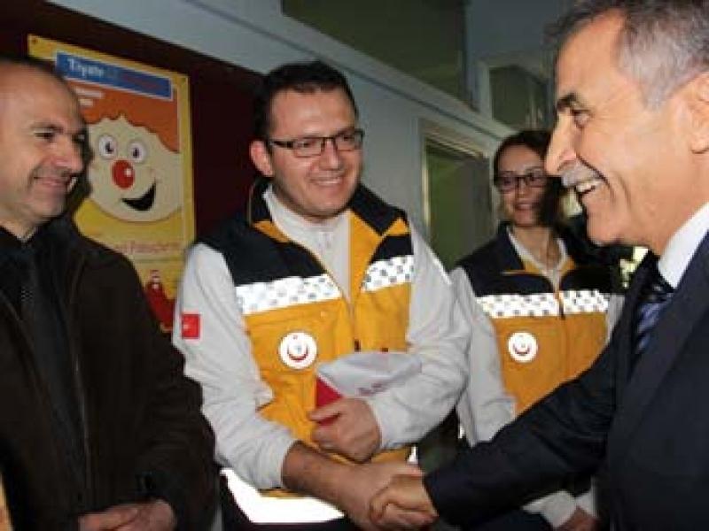 Yalova'da 1 Ayda 17 Bin Acil Çağrı Yapıldı