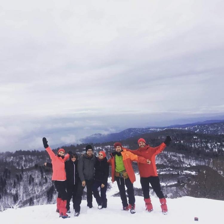 Yalovalı Trekingciler Kartepeye Tırmandı