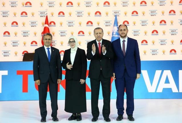 Yalova'nın Vekil Adaylarını Erdoğan Tanıttı