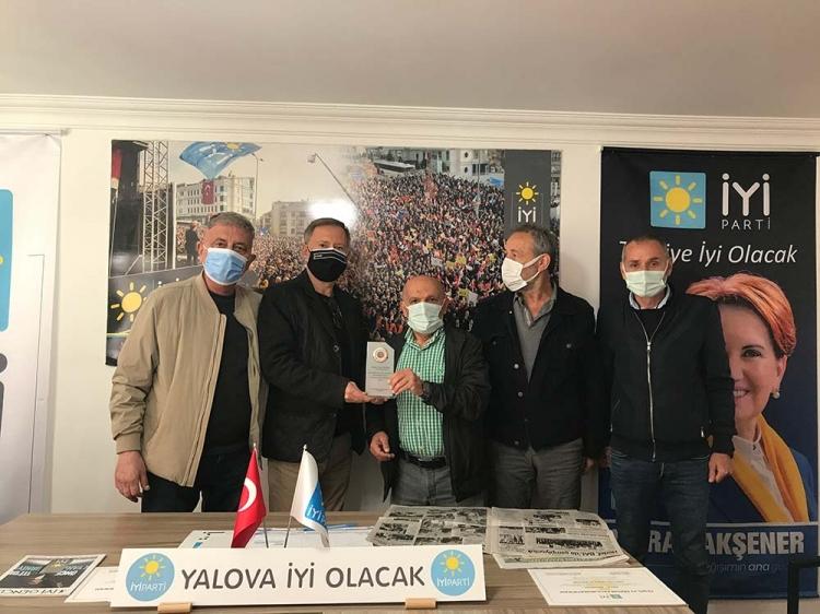 Yalovaspor Masterler Derneğinden İyi Parti'ye Ziyaret