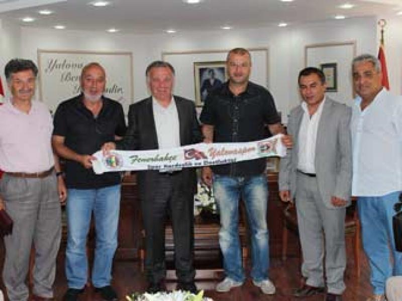 Yalovaspor Yönetim Kurulu'ndan Başkan Koçal'a Ziyaret