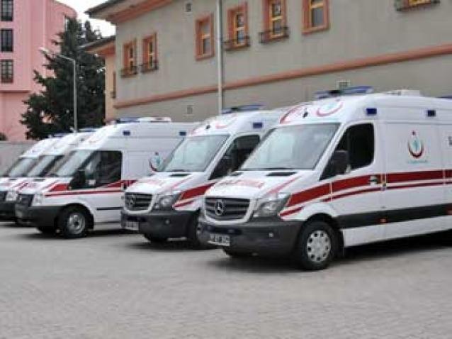 Yalova'ya 7 Yeni Ambulans Geliyor