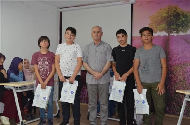 Yaz Kur'an Kursları Bilgi Yarışması Düzenlendi