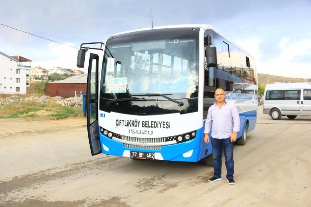 Yeni Belediye Otobüsü, Yeni Hatta Seferlere Başladı