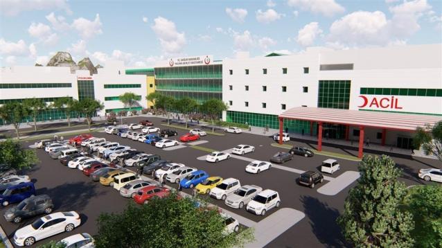 Yeni Hastanede 140 Poliklinik Bulunacak