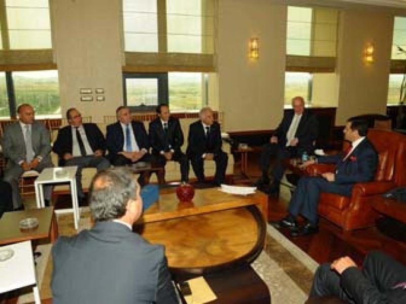 Yeni Yönetimden TOBB Başkanı Hisarcıklıoğlu'na Ziyaret