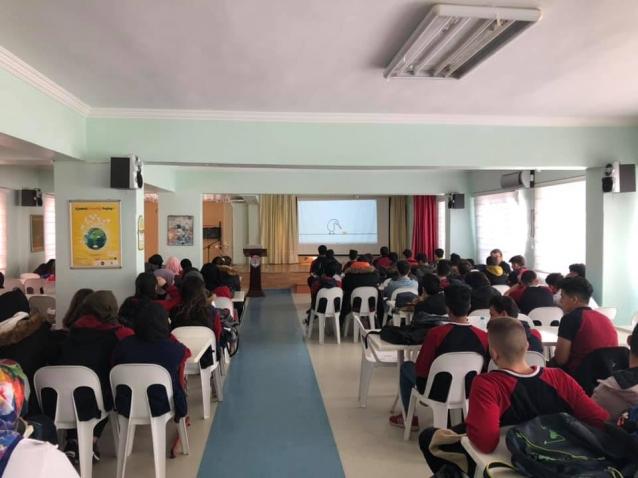Yeşilay Okullarda Eğitimleri Sürdürüyor