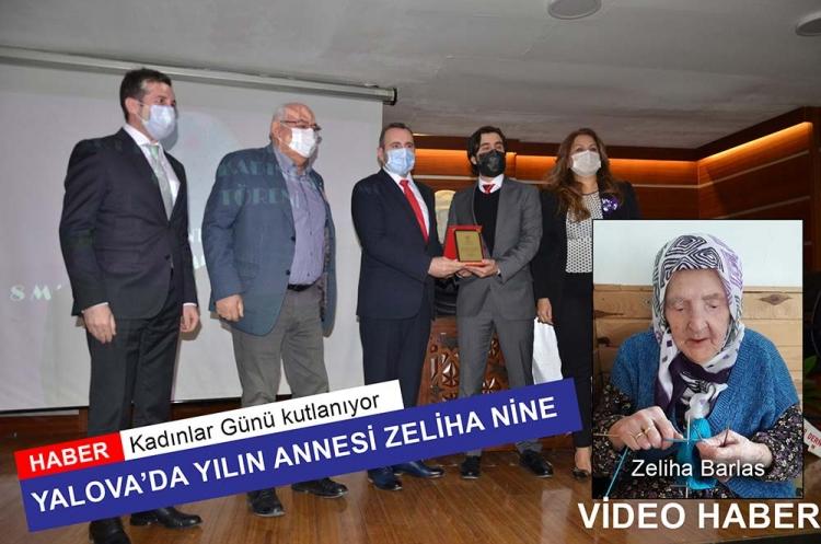 """Yalova'da Yılın Kadını, """"Zeliha Nine"""" Oldu"""