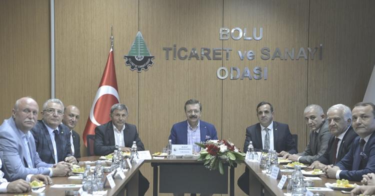 YTSO Marmara Bölge Toplantısına Katıldı