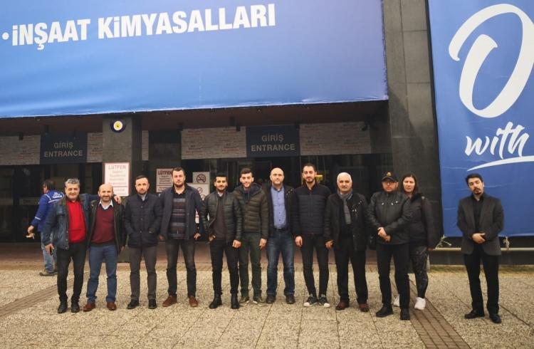 YTSO Üyeleri, Unıcera Fuarı'nı Ziyaret Etti