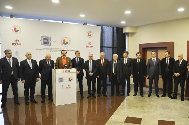 YTSO Yönetimi Reel Sektör Toplantısına Katıldı