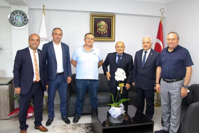 YTSO'dan Yeni Başkanlara Ziyaret