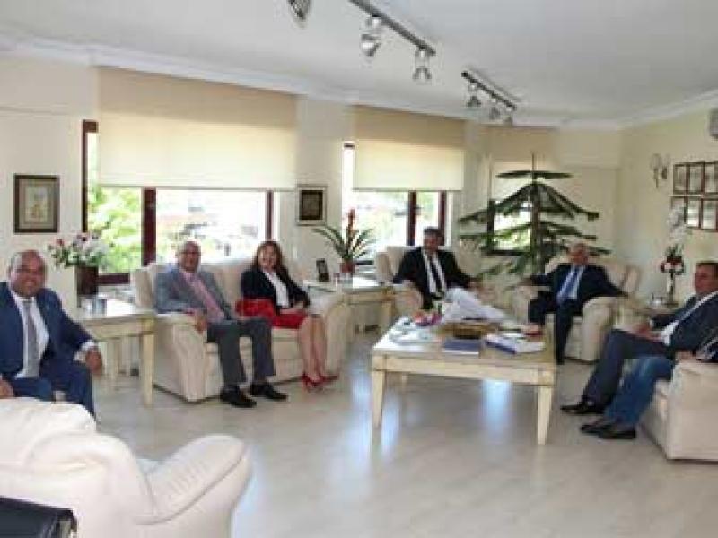 YTSO'ya Sosyal Güvenlik Haftası Ziyareti