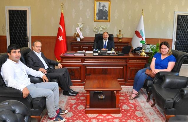 Yümder'den Rektör Erbaş'a Ziyaret