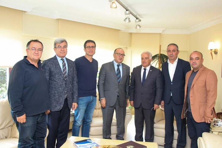 Zeytinoğlu, YTSO'yu Ziyaret Etti